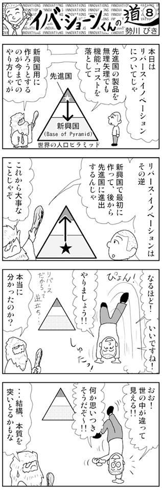 イノベーション漫画